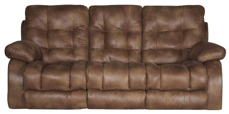 Watson Lay Flat Reclining Sofa - Almond