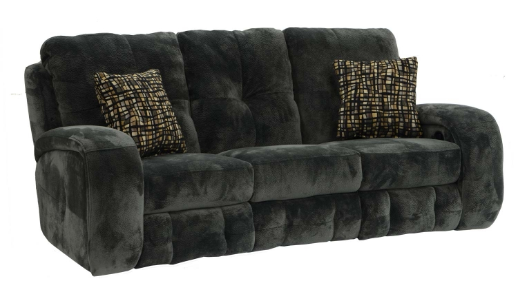Felton Reclining Sofa - Charcoal - Catnapper