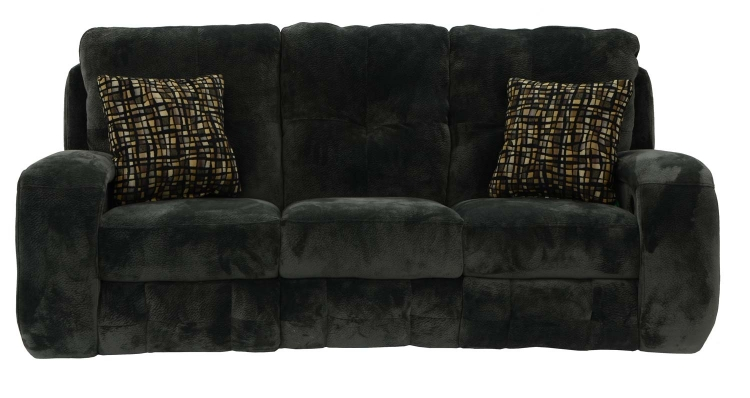 Felton Power Reclining Sofa - Charcoal - Catnapper