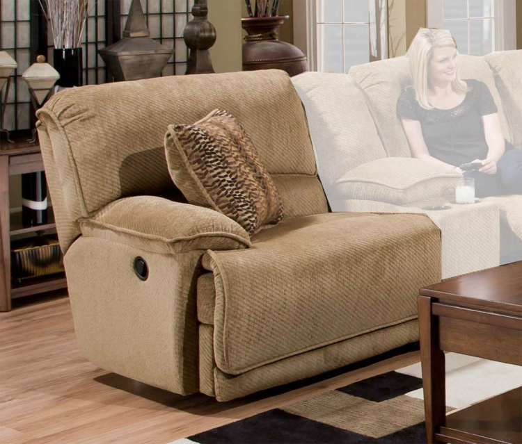 Grandover Left Side Facing Recliner - Sandstone