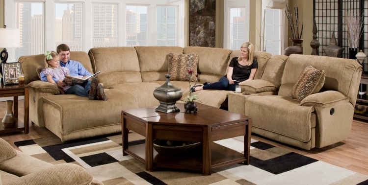 Grandover Sectional Set B - Sandstone - Catnapper