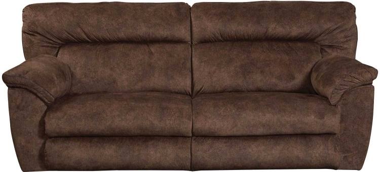 Nichols Power Lay Flat Reclining Sofa - Chestnut