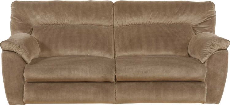 Nichols Power Lay Flat Reclining Sofa - Fawn