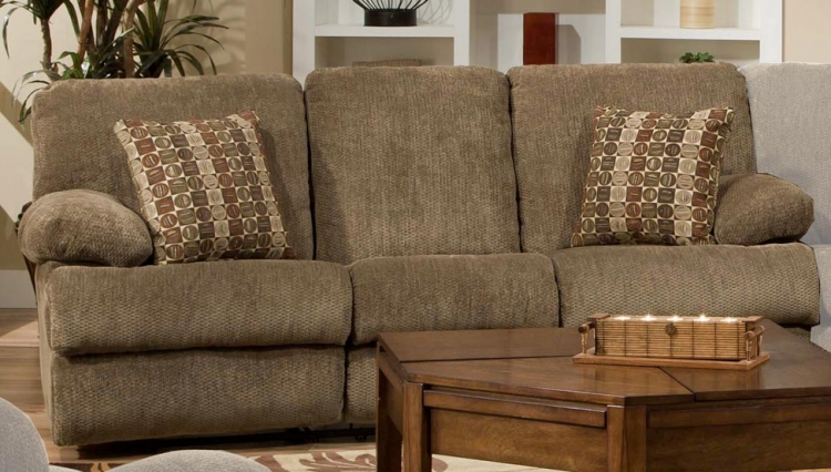Harbor Reclining Sofa - Tobacco - Catnapper