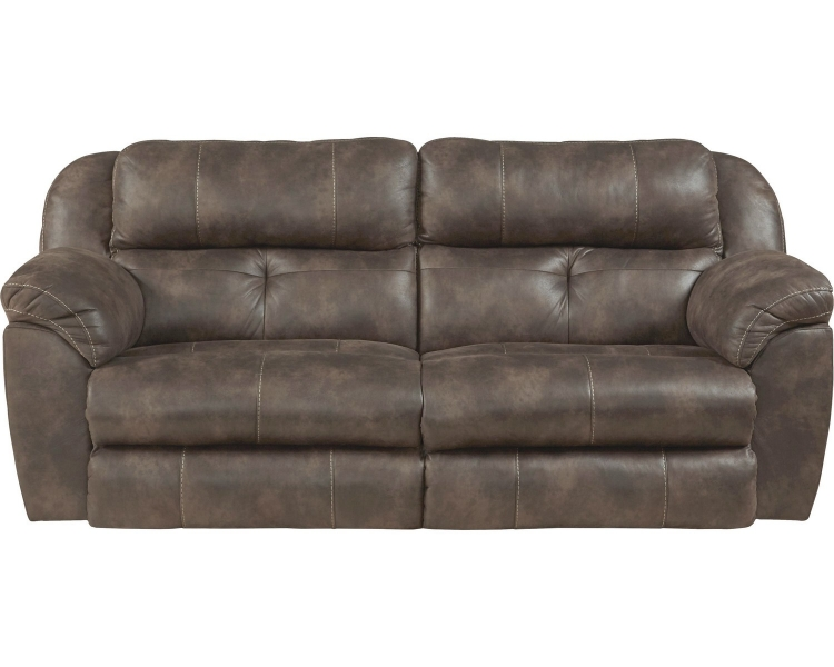Ferrington Power Headrest Power Lay Flat Reclining Sofa - Dusk