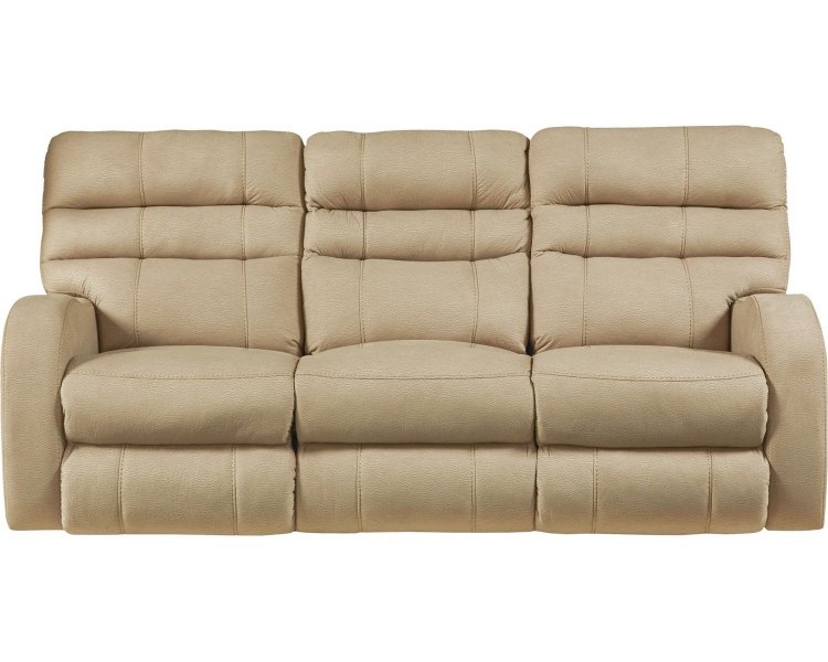 Kelsey Power Headrest Power Lay Flat Reclining Sofa - Doe