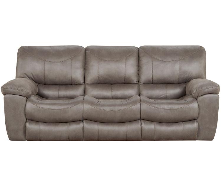 Trent Reclining Sofa - Charcoal