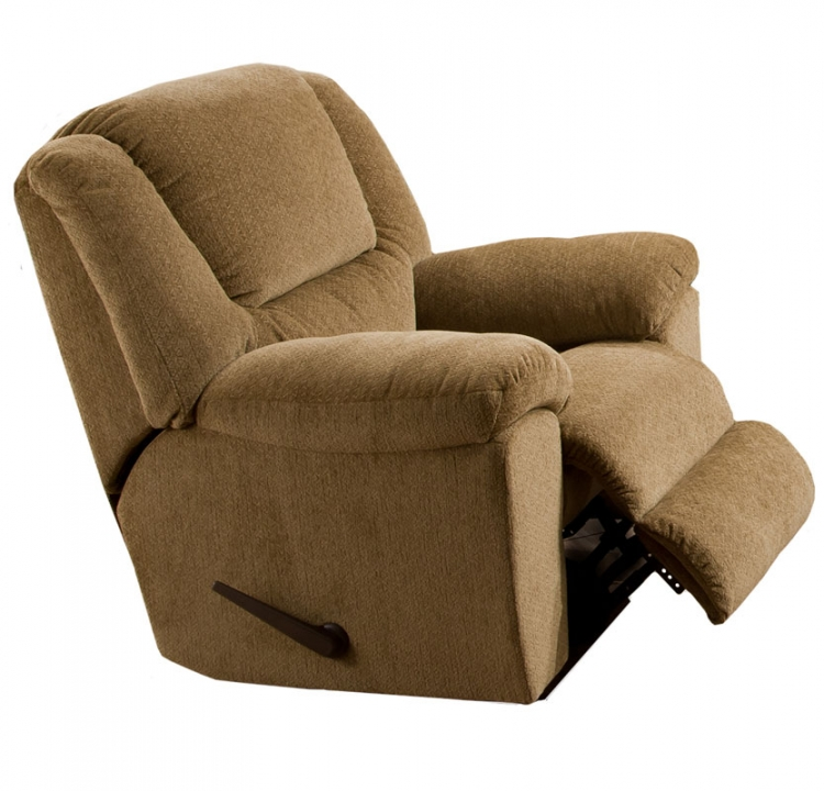 Transformer Chaise Swivel Glider Recliner - Beige -Catnapper
