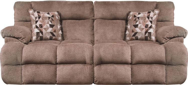 Brice Power Reclining Sofa with Power Headrest - Chateau