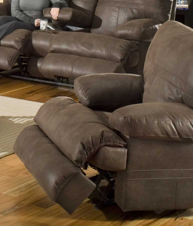 Ranger Glider Recliner - Chocolate - Catnapper