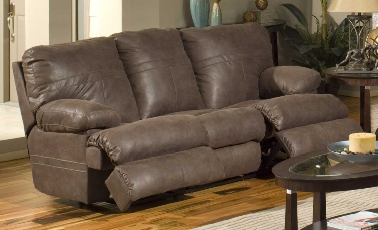 Ranger Reclining Sofa - Chocolate - Catnapper