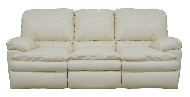 Perez Power Reclining Sofa - Ice