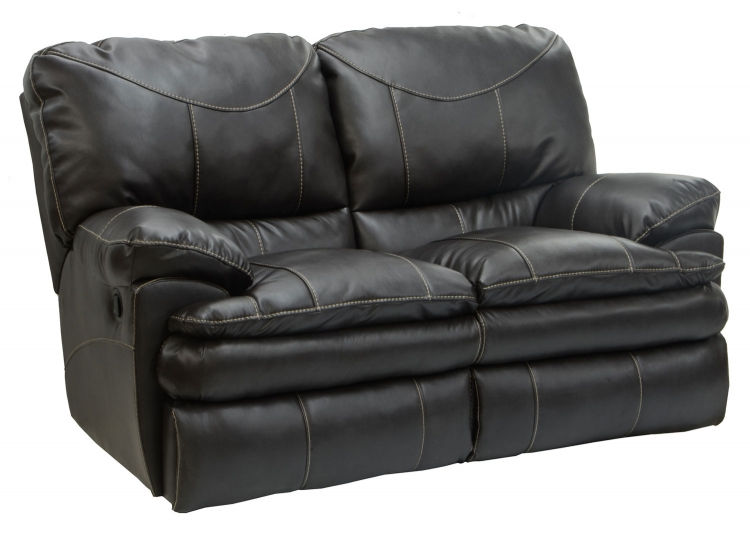 Perez Power Reclining Loveseat - Steel