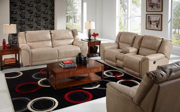 Catnapper Siesta Power Lay Flat Reclining Sofa Set