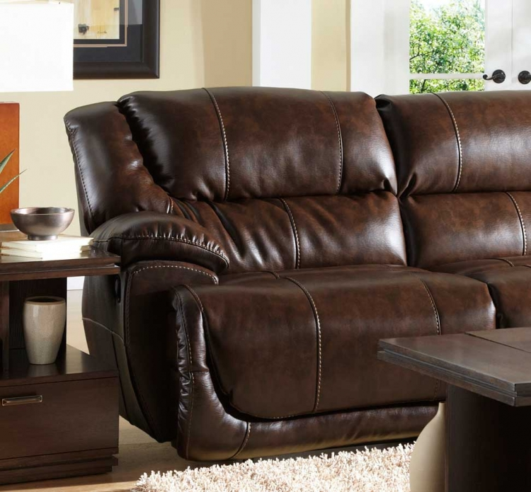 Park Avenue Left Side Facing Recliner Section - Java