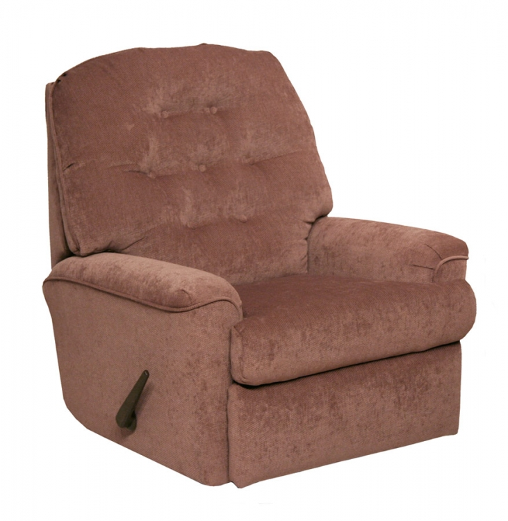 Piper Rocker Recliner - Mauve
