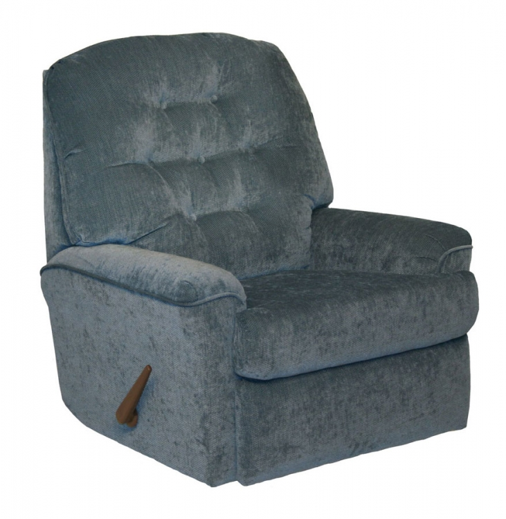 Piper Rocker Recliner - Sky
