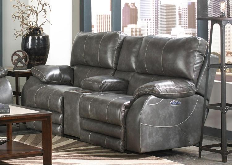 Global Furniture Usa 4120 Sofa Seat Red Bonded Leather