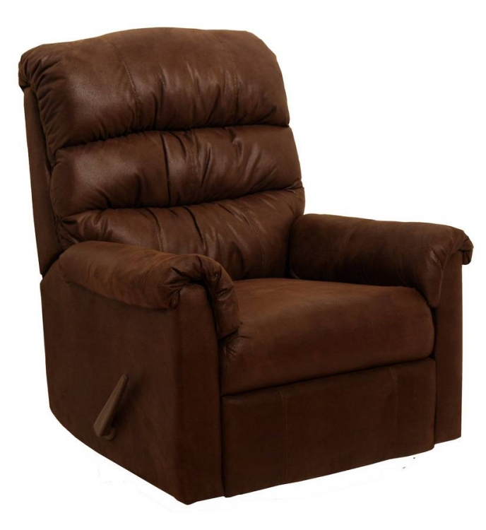 Capri Rocker Recliner - Chocolate
