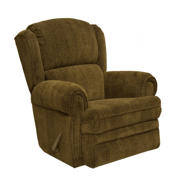 Kirkland Rocker Recliner - Chocolate - Catnapper