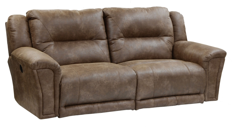 Collin Lay Flat Reclining Sofa with X-tra Comfort Footrest - Silt