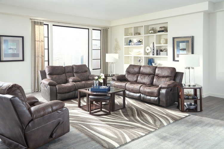 Henderson Power Reclining Sofa Set - Dusk