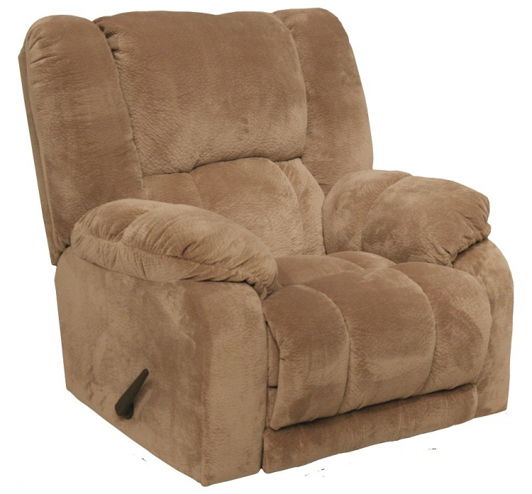 Hogan Inch Away Recliner with X-tra Comfort Footrest - Camel