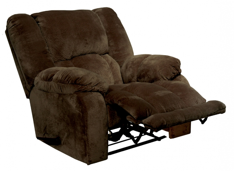 Hogan Inch Away Recliner with X-tra Comfort Footrest - Chocolate
