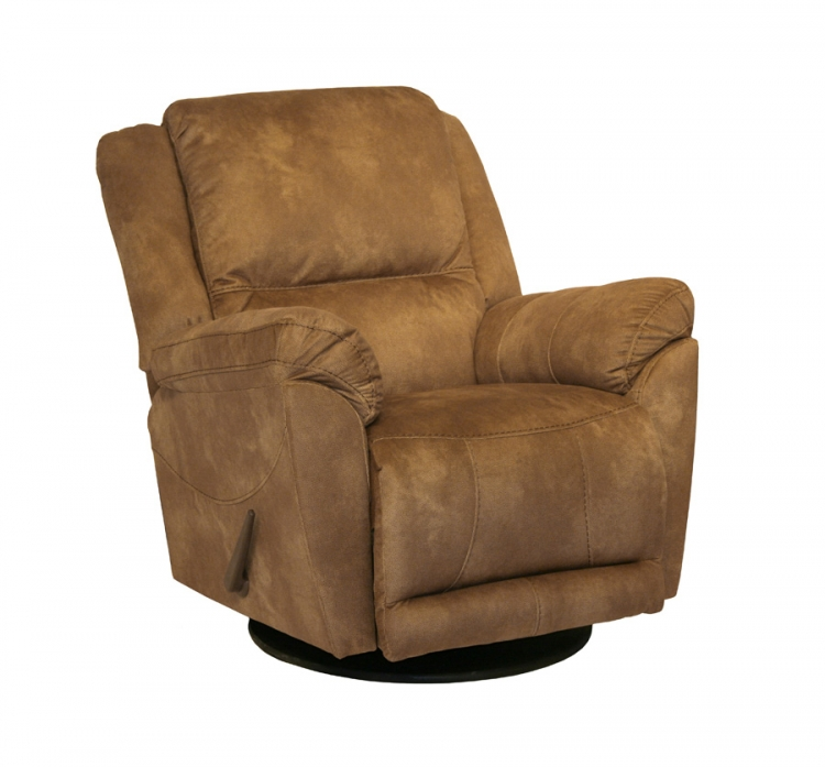 Maverick Chaise Swivel Glider Recliner - Saddle - Catnapper