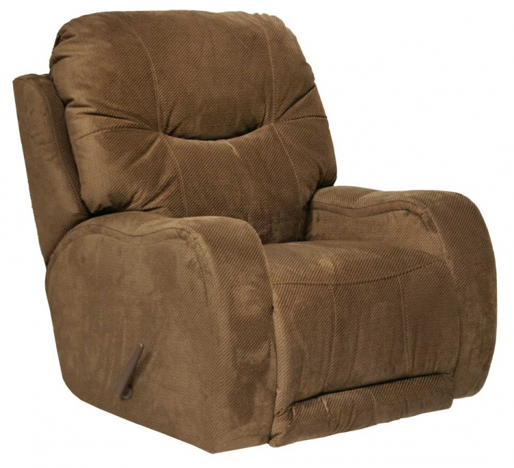 Reflections Chaise Rocker Recliner - Walnut - Catnapper