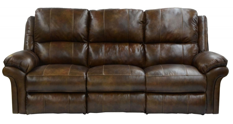 Benson Lay Flat Reclining Sofa - Timber