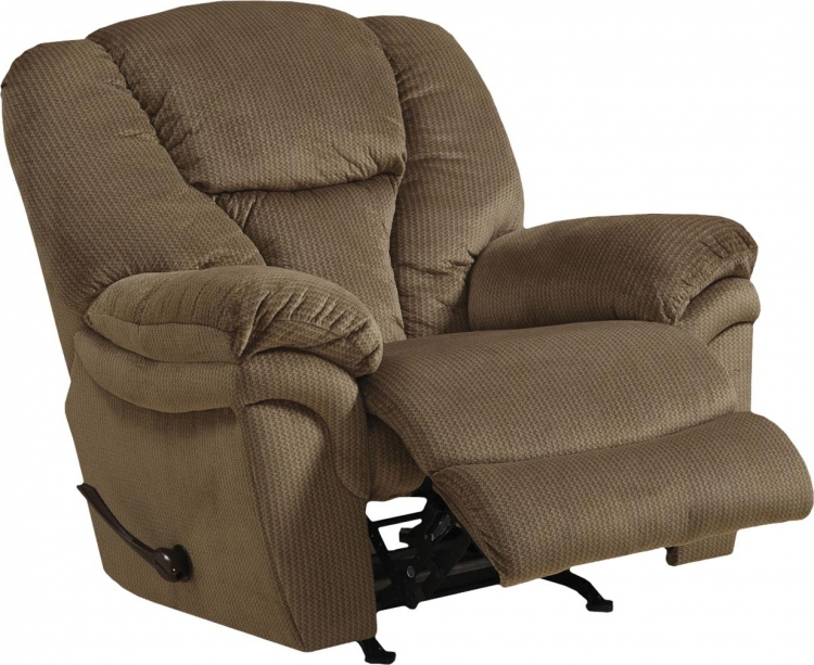Drew Chaise Rocker Recliner - Fawn
