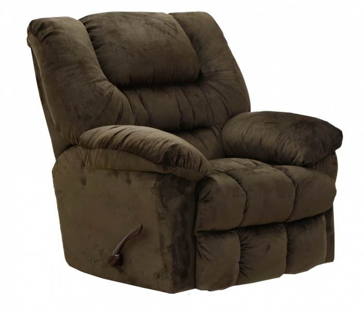 Peyton Rocker Recliner - Chocolate