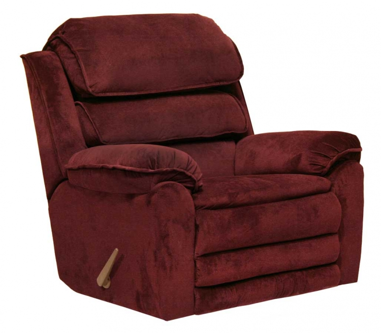 Vista Chaise Rocker Recliner with X-tra Comfort Footrest - Port - Catnapper
