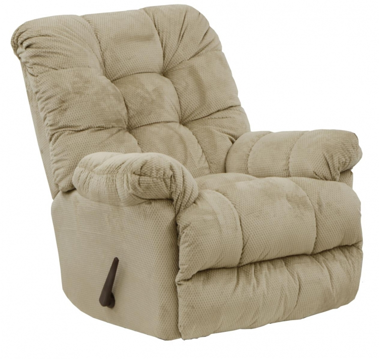 Nettles Chaise Rocker Recliner with Deluxe Heat and Massage - Doe - Catnapper