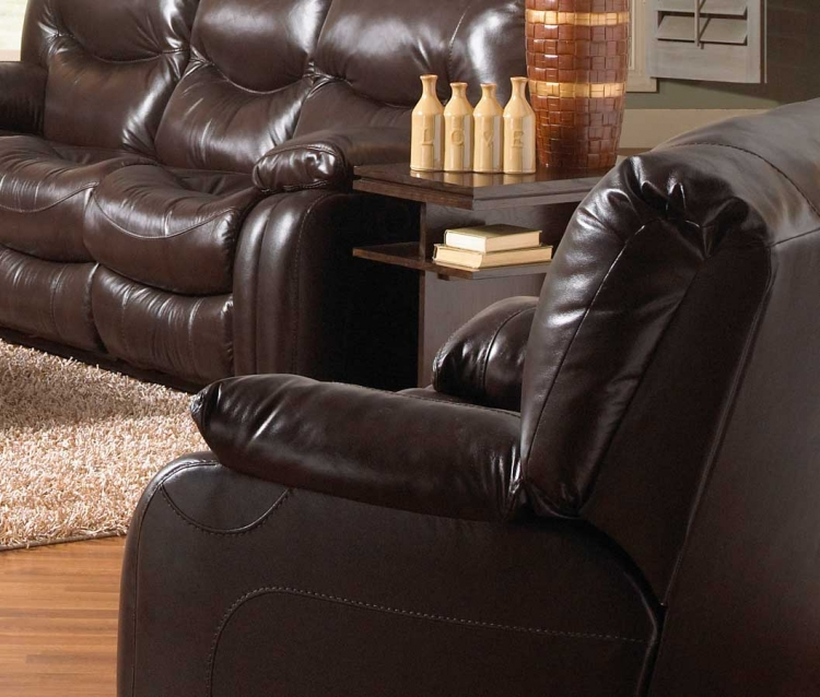 Arlington Swivel Glider Recliner - Mahogany - Catnapper