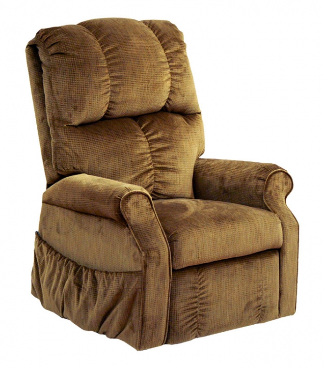 Somerset Power Lift Lounger Recliner - Havana