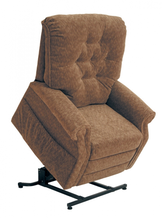 Patriot Power Lift Full Lay-Out Recliner - Autumn