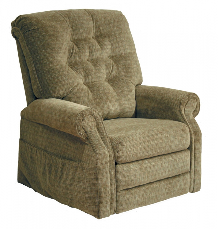 Patriot Power Lift Full Lay-Out Recliner - Celery