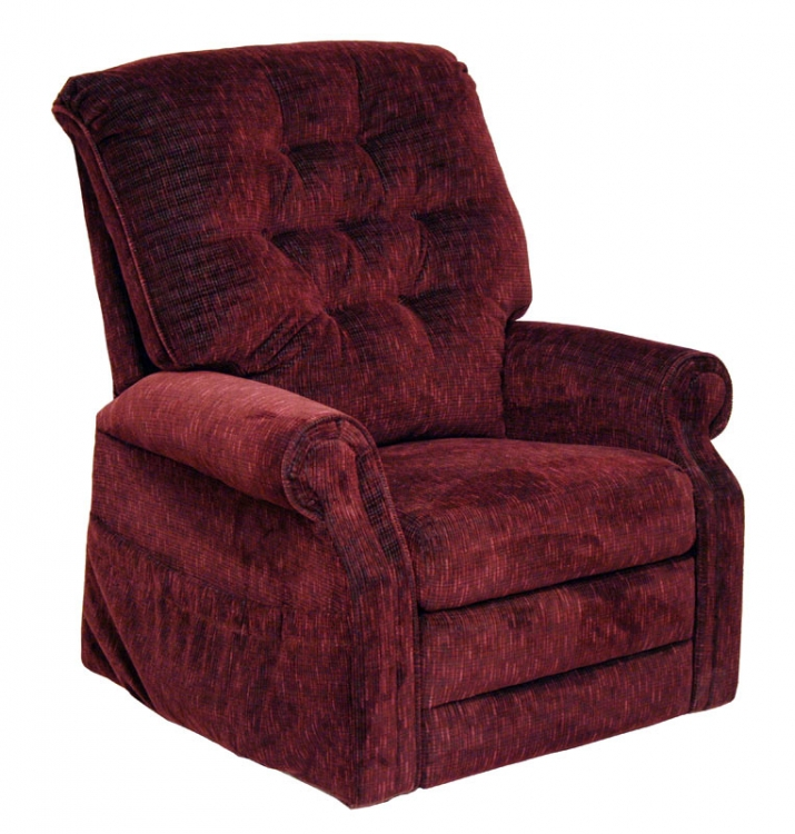 Patriot Power Lift Full Lay-Out Recliner - Vino