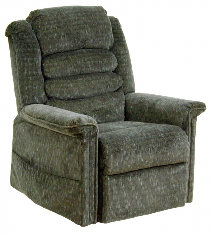 Soother Power Lift Full Lay-Out Chaise Recliner with Heat and Massage - Woodland - Catnapper