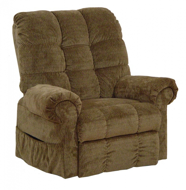 Omni Power Lift Full Lay-Out Chaise Recliner - Thistle