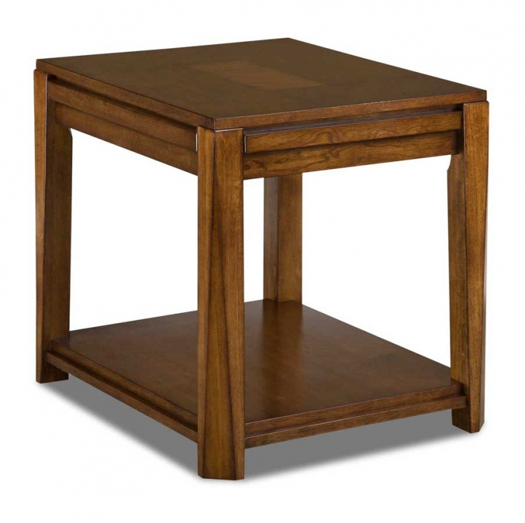 872 Series End Table With Pull Out Shelf