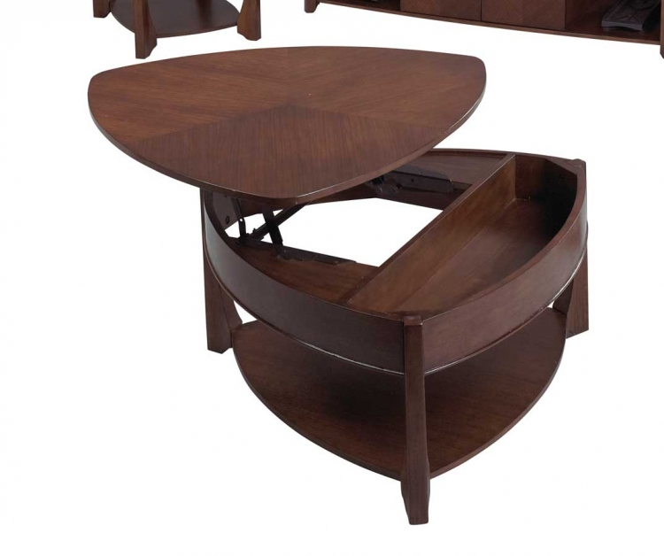 878 Series Wedge Lift Top Cocktail Table - Catnapper
