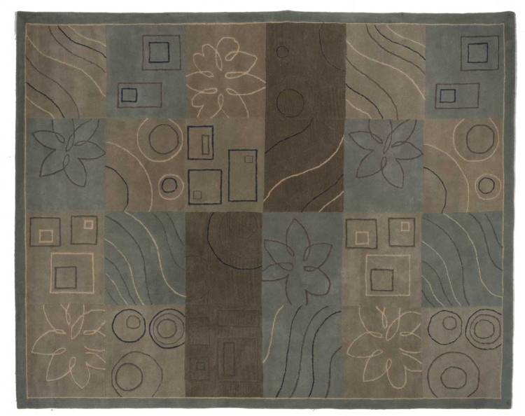 952 Series Wool Hand Tufted Rug - Catnapper