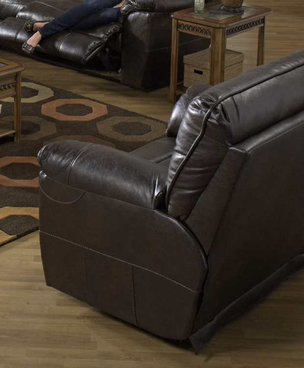 Nolan Power Extra Wide Cuddler Recliner - Godiva