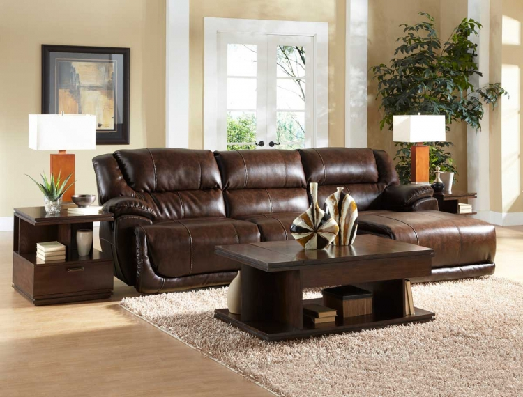 Park Avenue Sectional Sofa Set C - Java