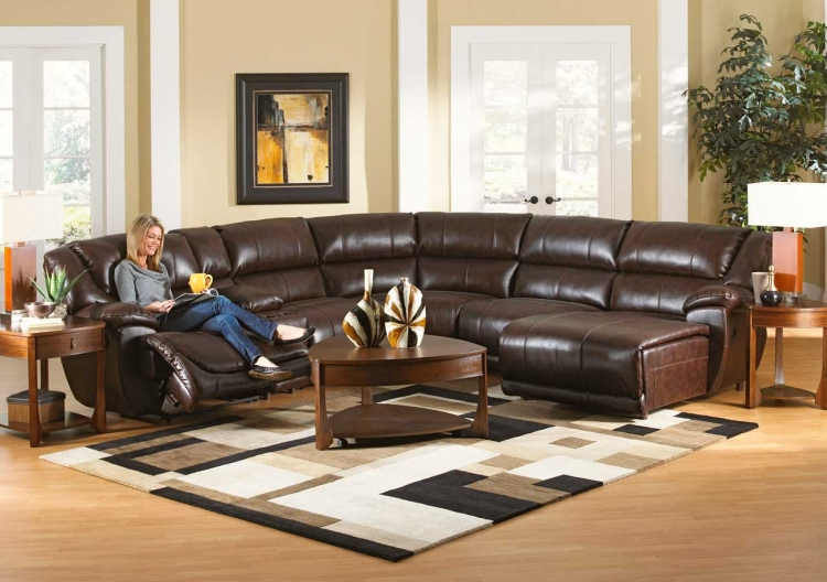 Park Avenue Sectional Sofa Set A - Java