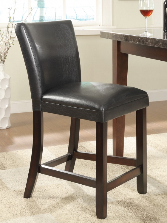 100055 24 Counter Height Stool - Cappuccino