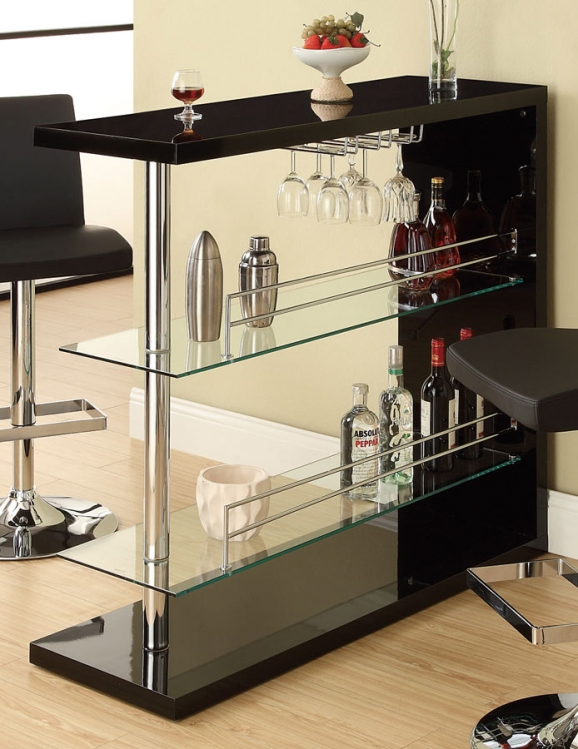100165 Bar Table - Black
